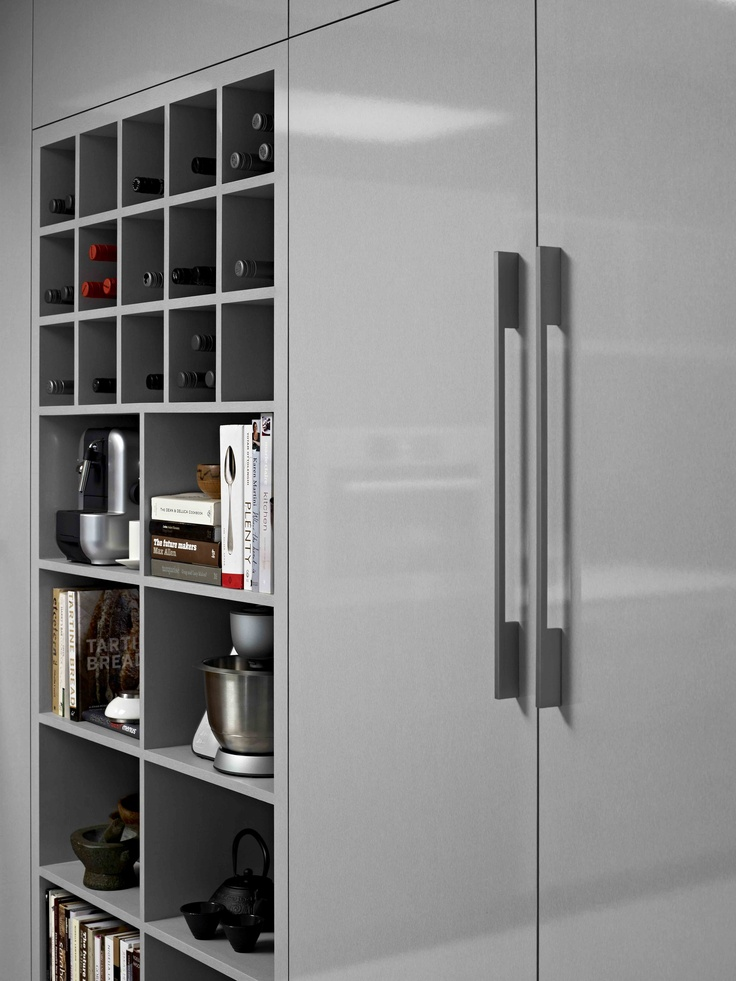 Cupboards and doors Laminex Silk Finish Zincworks. Styling Wendy Bannister. Photography Earl Carter.