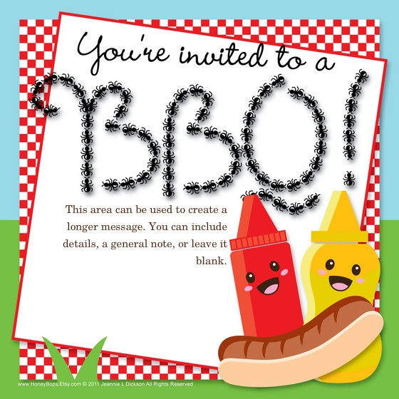 28 best Invites to Everything u003c3 images on Pinterest Design - bbq invitation template