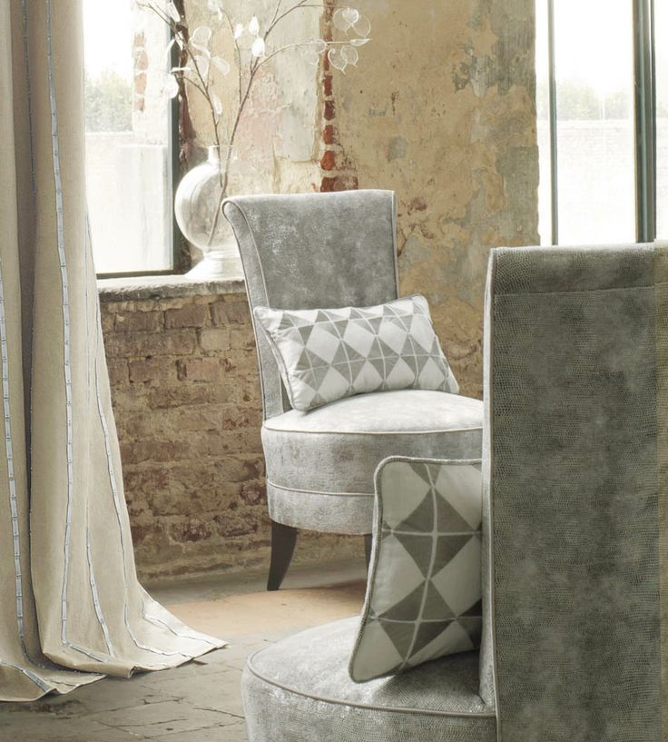 Christmas at Home | Ouvrage Fabric by Casamance | Jane Clayton