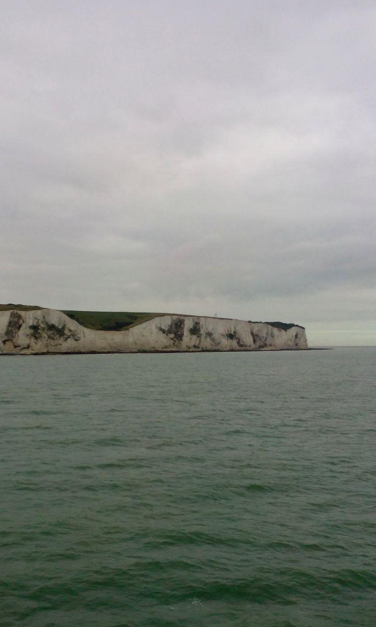 White cliffs of Dover, UK / Les falaises blanches de Douvres, Royaume-Uni