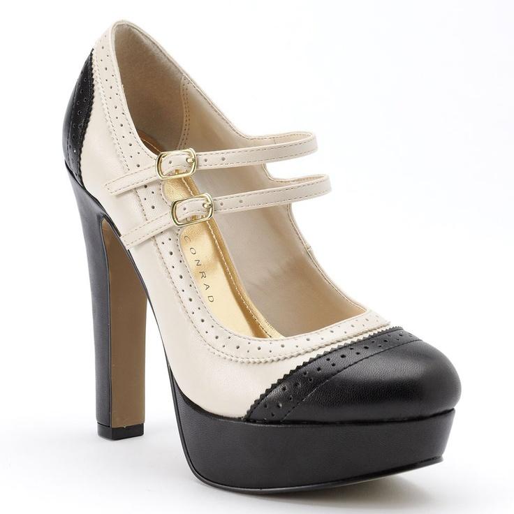Studious meets smoldering. #LCkohlsfav #maryjanes #heels #Kohls
