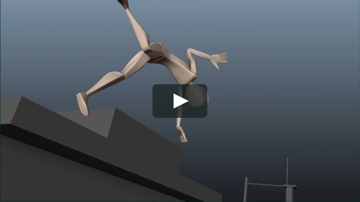 I've used a ton of parkour references for this exercise, my body is obviously not able to make those movements :) I have to thank some great artists like…