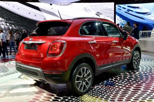 cerchi in lega 18 pollici - Arriva la versione SUV della Fiat 500.