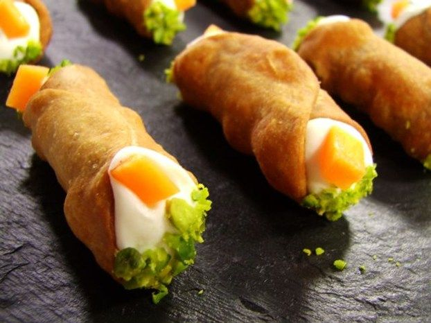 Cannoli siciliani salati di Montersino