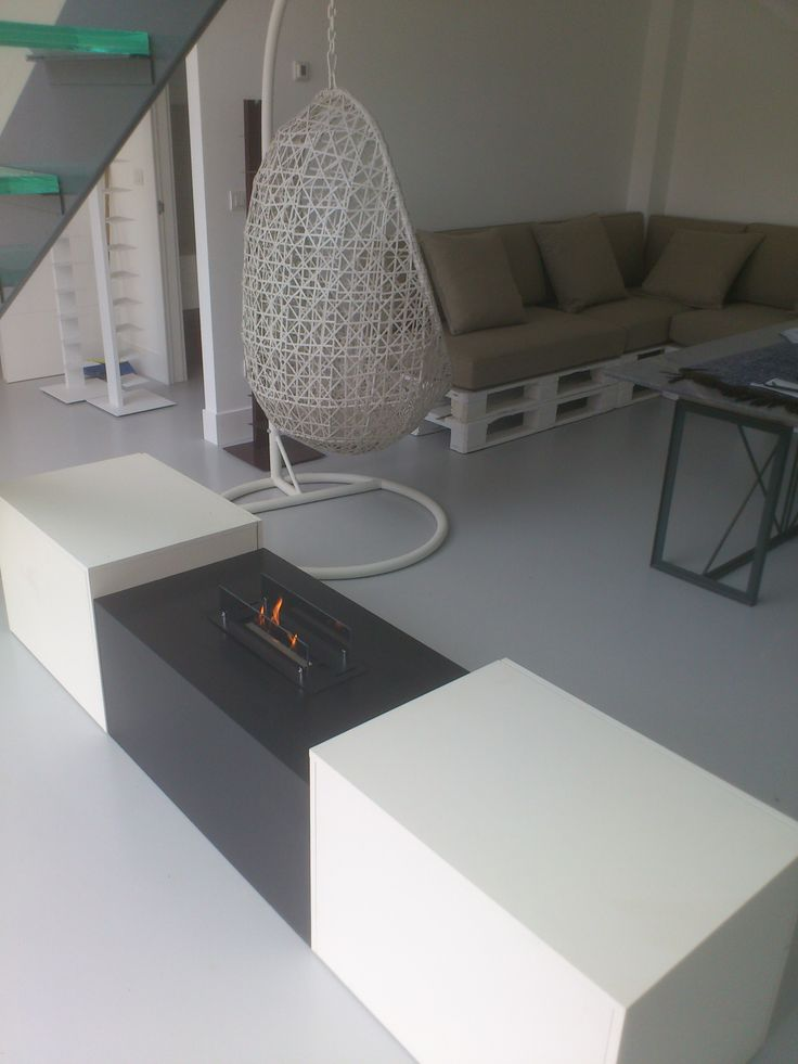 M s de 25 ideas fant sticas sobre chimeneas minimalistas - Hacer chimenea bioetanol ...