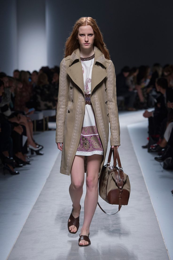 Runway look from Fay Spring - Summer 2016 fashion show.