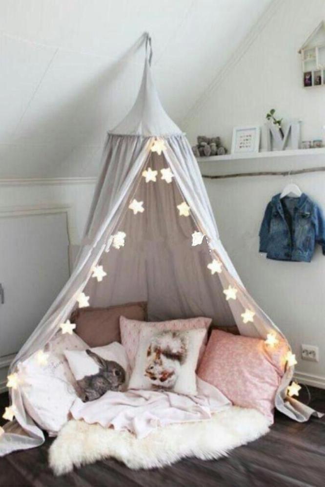 Bed Room Tent #bedroomsforgirls | Bedroom themes, Kid room ...