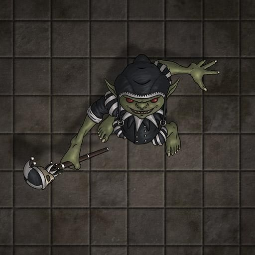 Goblin Token Roll20 FantasyGrounds Foundry Dungeons And