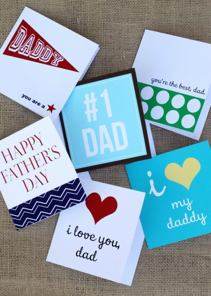 Father's Day Card Designs To Print + Give...
