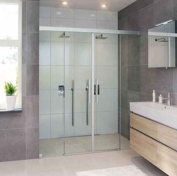 Inspiratie inspiration bathroom badkamer furniture meubels badkamers t - Douche a l italienne moderne ...