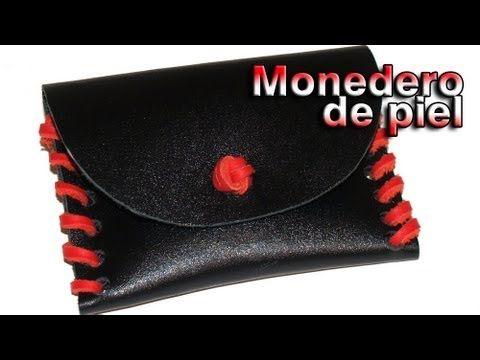 Monedero de Piel - DIY - Wallet leather - YouTube