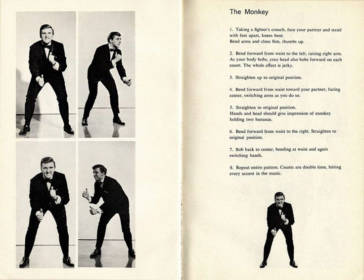 how to do the monkey dance