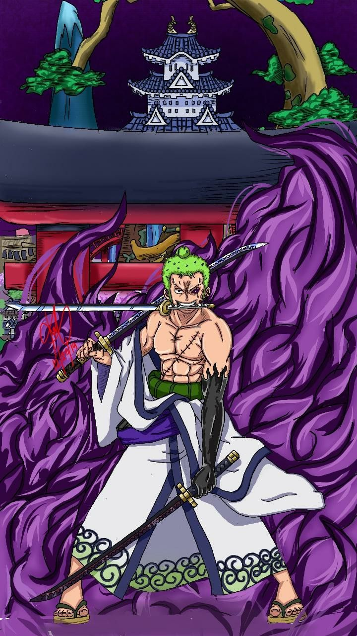 Zorro Walpaper Hd Seni Anime Gambar Anime Seni