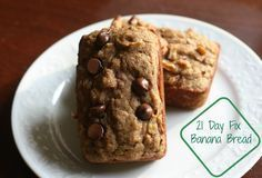 21 day Fix Banana Bread, 21 day fix approved no yellows