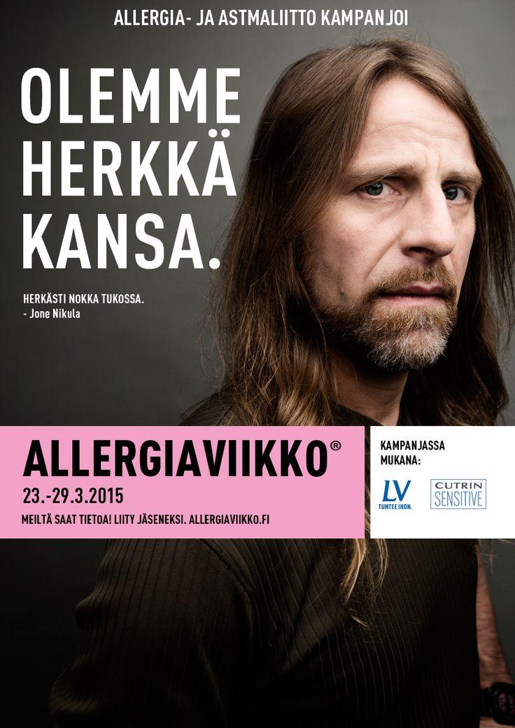 Allergiaviikko 2015, Jone Nikula