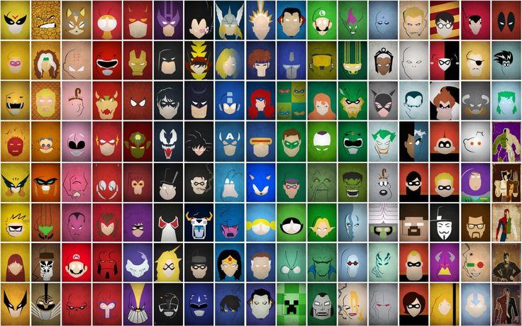 superheroes-characters.jpg (1920×1200) | Face Painting ...