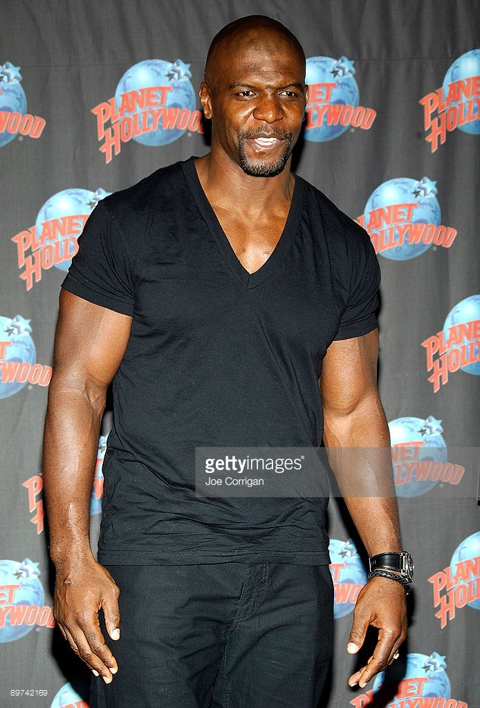 Terry Crews Visits Planet Hollywood Photos and Images | Getty Images