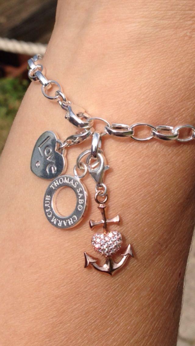 My gorgeous Thomas Sabo bracelet