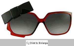 Dita Bow Sunglasses - 366 Cherry