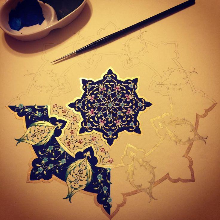 #workinprogress  #tezhip #artwork #turkish #dilarayarci