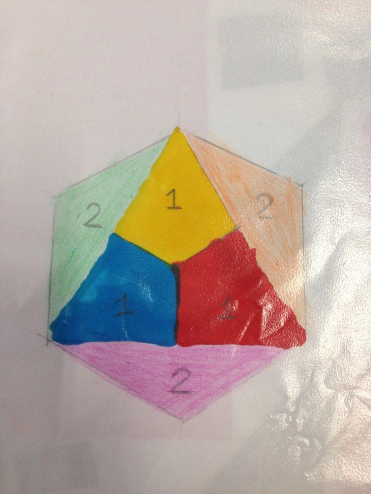 1 primaire kleuren 2 senduraire kleuren Pin voor school