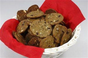 Specier m. chokolade og nødder