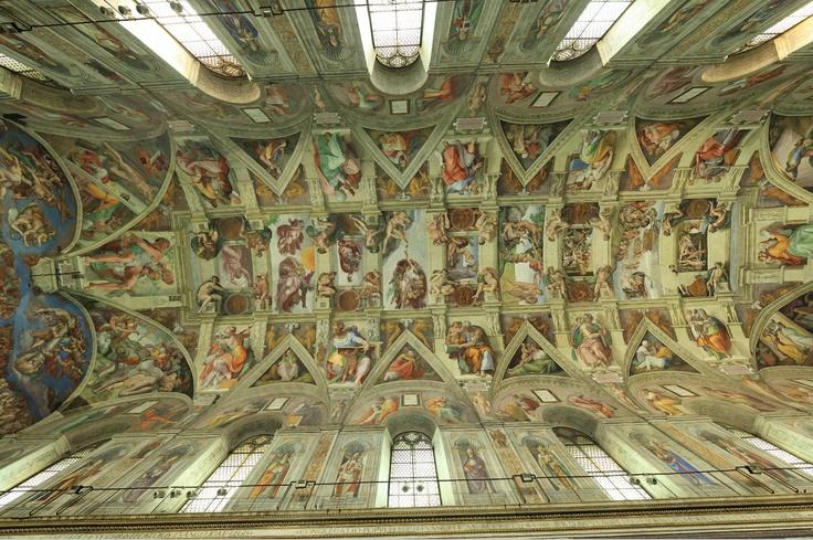 42 best Sistine Chapel ceiling by Michelangelo (Rome ...