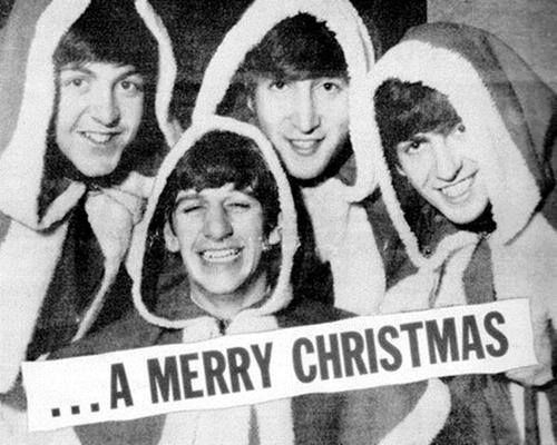 The Beatles.... A Merry Christmas.