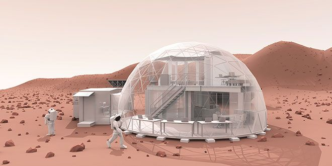 I'd like more detail about this.  Real pictures would be nice too.  What It Could Be Like to Live on Mars