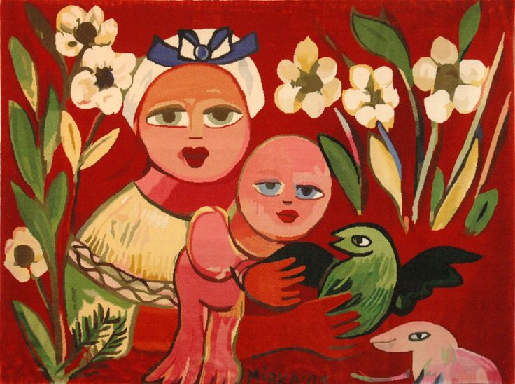 Mirka Mora, one of my favourite Melbourne artists