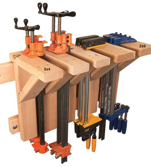 Image detail for -Classic Ways to Store Clamps - The Woodworker's Shop - American ...