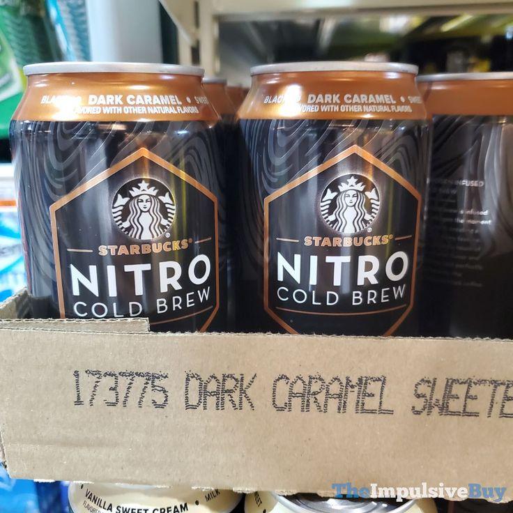 SPOTTED Starbucks Nitro Cold Brew (Black, Vanilla Sweet
