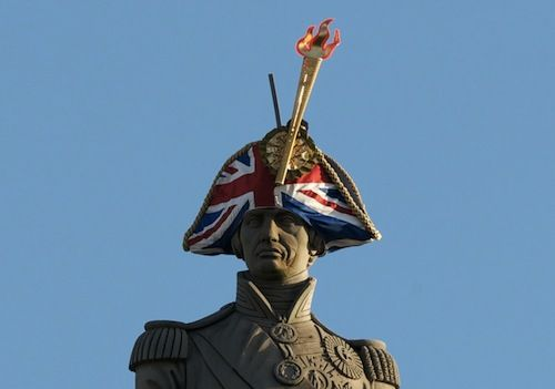 London's Statues Get A Fashion Makeover