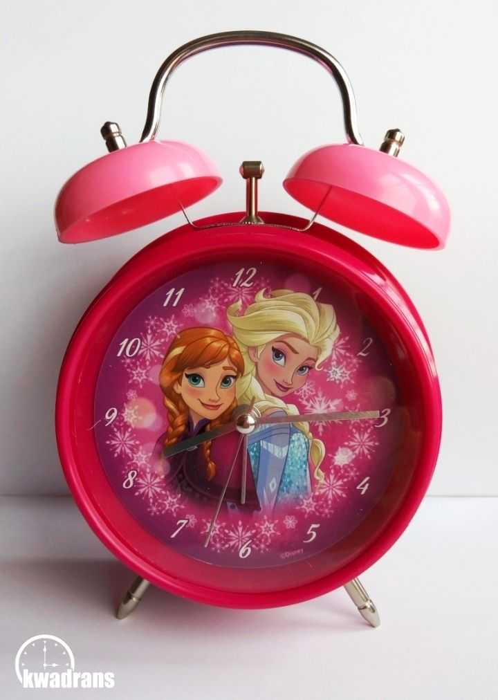 Budzik Kraina Lodu z Elsą i Anną // Alarm clock with Elsa and Anna from Disney's Frozen #frozen #watch
