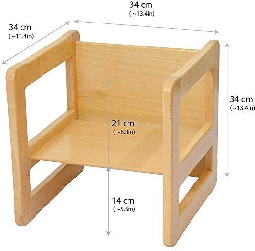 Obique 3 En 1 Mobilier Multifunctionnel Enfants Ensemble De 3 Deux Petites Chaises Tables Un Grand Table Et Chaise Enfant Meuble Enfant Escabeau Pour Enfants