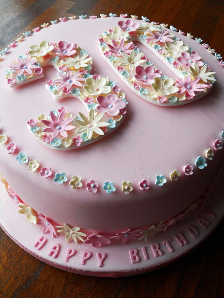 Birthday Cakes | Cake Gallery » 30th Birthday Cake