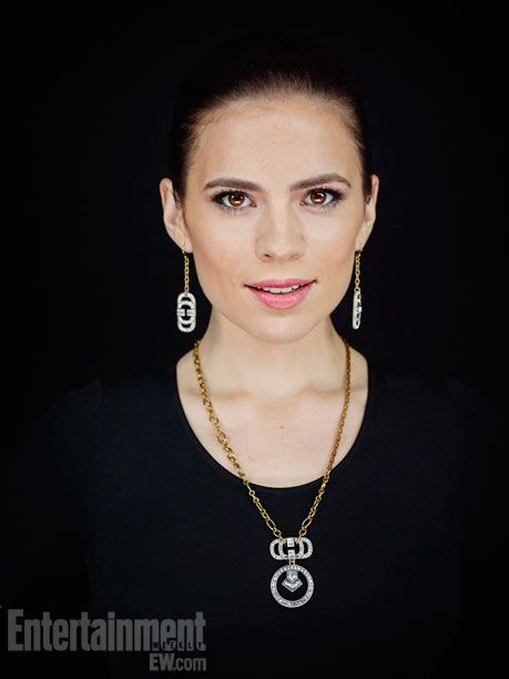 Hayley Atwell Very attractive and pretty— would love to describe a character that looks like her -Helena(: