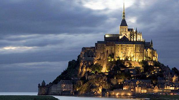 Monte Saint Michel, Manche, França