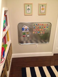 auto-supply store oil drip pan - magnet board