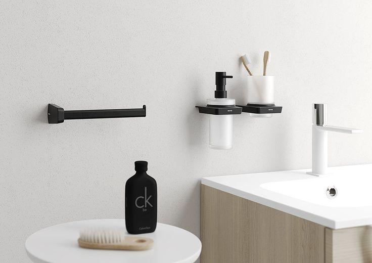 ZEN BLACK dávkovač mýdla, 250ml, SAPHO E-shop