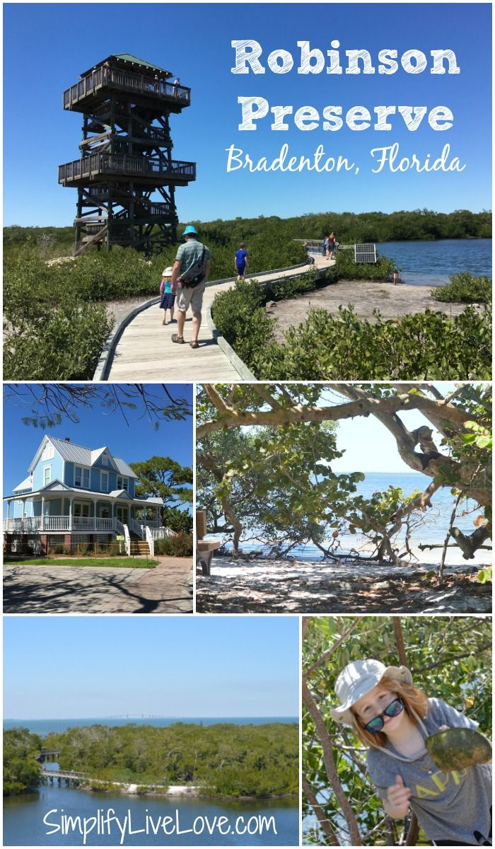 Florida is about more than beaches and Disney. Check out the fun, educational, and free activities at Robinson Preserve in Bradenton, Florida.