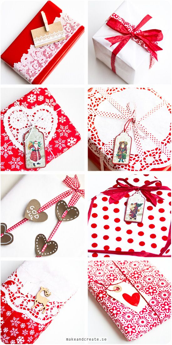 Christmas gift wrapping ideas - from Craft & Creativity