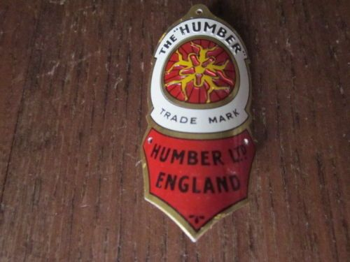 Vintage Bicycle Humber Emblem Headbadge Head Badge Ebay