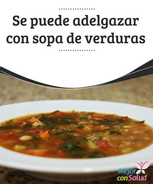 Sopa de verduras para adelgazar thermomix