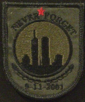 OML Patches - 911 Never Forget, $7.50 (http://www.omlpatches.com/911-never-forget/)