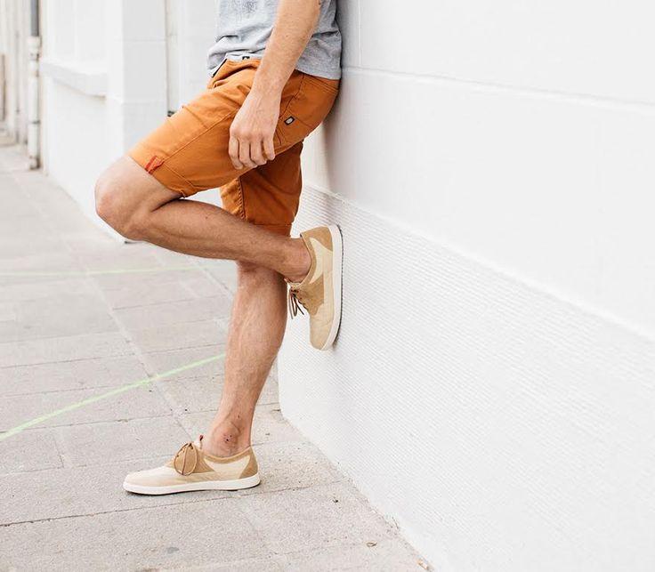 #chaussure #tennis #homme #Hacter #HacterConcept #cuir #suede #beige #lin #recyclé #mode #fashion #men #shoes #leather #linen #recycled #ecofriendly #ecological #environmental #collection #printemps #été #SS17 Photo : Aurélie Lécuyer #AurelieLecuyer @ledansla