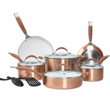 Philippe Richard 174 12 Pc Ceramic Nonstick Cookware Set