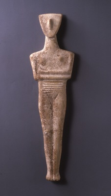 cycladic woman