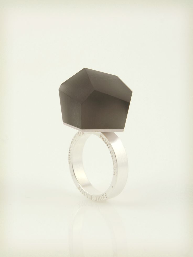 VU - anthracite grey, silver ring -=PYO=