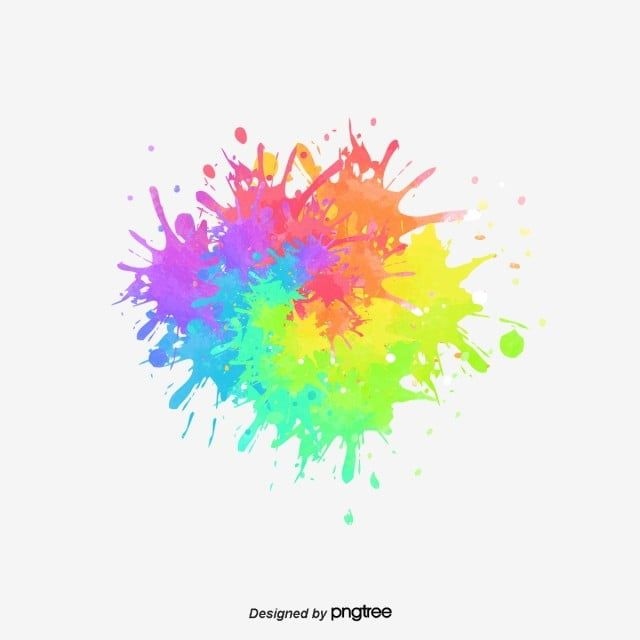 Splash Watercolor Elements Spatter Color Rainbow Png Transparent Clipart Image And Psd File For Free Download Paint Splash Background Watercolor Splash Watercolor Background
